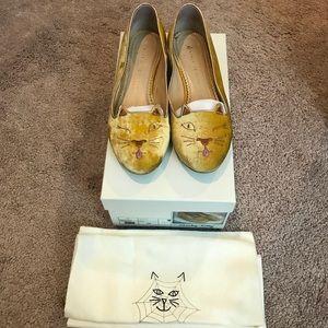 Sale! Charlotte Olympia Kitty Flats